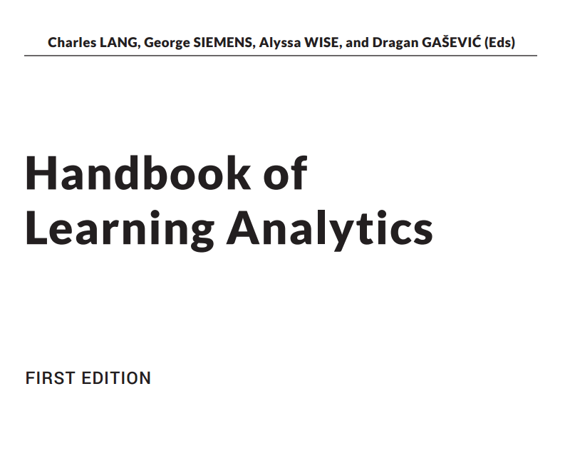 handbook learning analytics